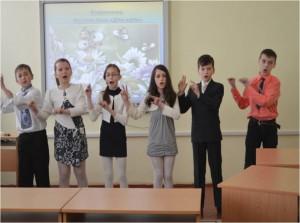 Виконання жестової пісні Діти-квіти